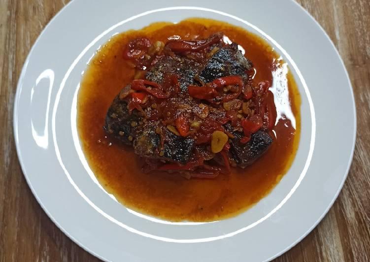 Sweet And Spicy Mackerel Tuna (Tongkol)