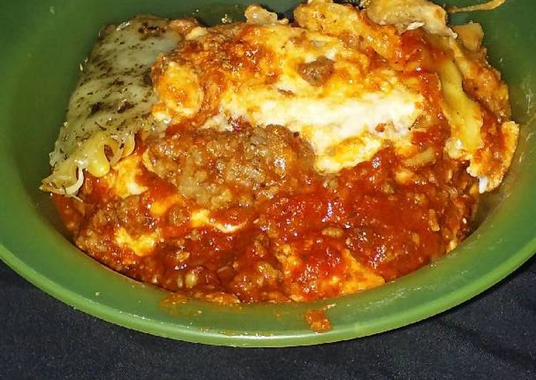 Step-by-Step Guide to Prepare Super Quick Homemade Crock pot lasagna