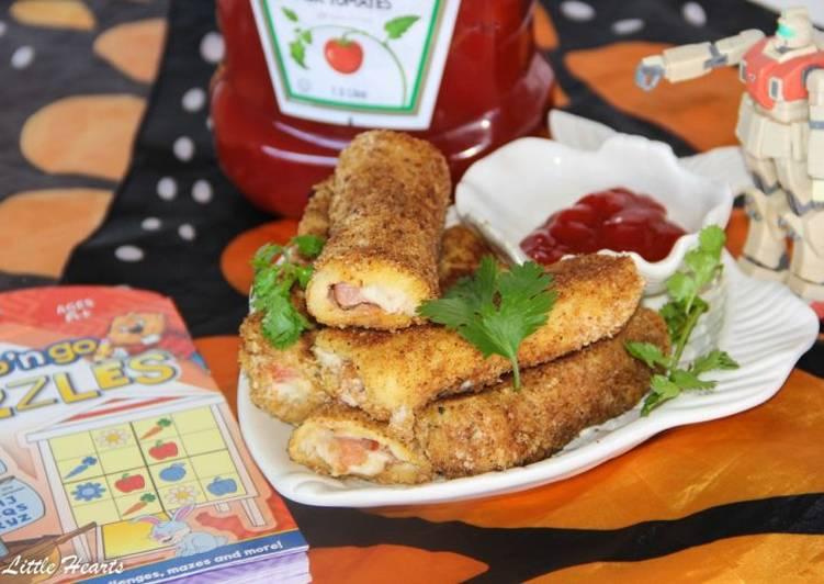 Recipe: Tasty Tuna Melt French Toast Roll Ups