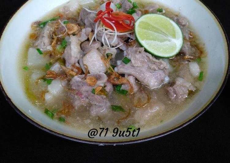 Resep Soto Iga Daging Babi Oleh Asung N Igm Cookpad