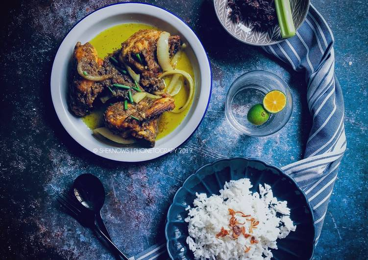 Ayam Sambal Gesek Hijau - velavinkabakery.com