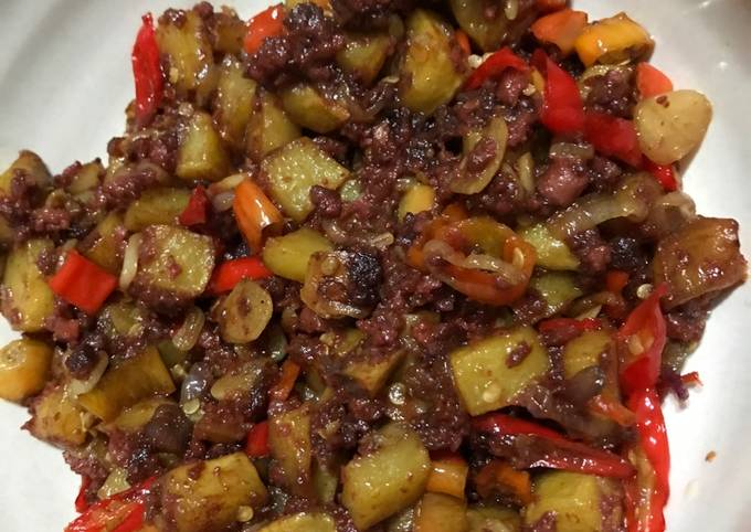 Resep Tumis kornet kentang