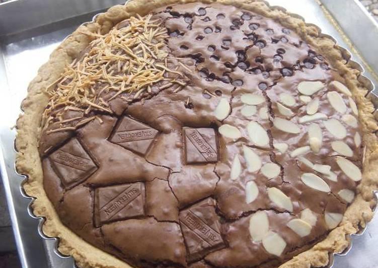 Pie Brownies Shiny Crust
