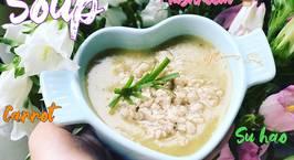 Hình ảnh món Soup thịt bằm su hào khoai tây carrot nâm