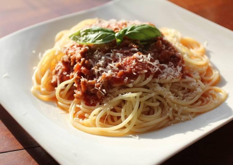 Espagueti A La Boloñesa O Bolognesa Receta De Realmente Delicioso Cookpad