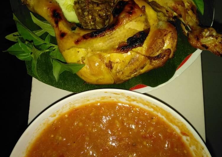 Ayam panggang kampung - cookandrecipe.com