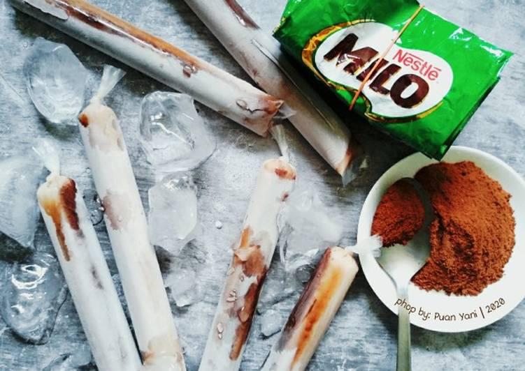 Aiskrim Malaysia Milo Homemade by Yani - resepipouler.com