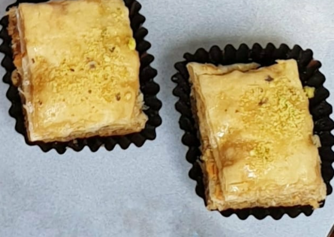 Rose And Pistachio Baklava Recipe By Malaysian Kitchen Uk Cookpad