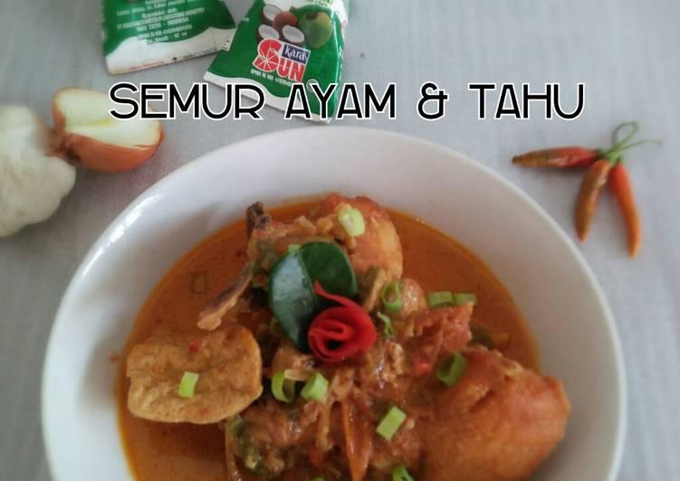 Semur Ayam & Tahu