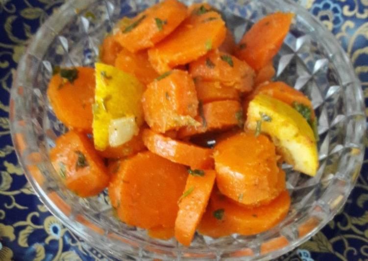 La Délicieuse Recette du Salade de carottes au cumin