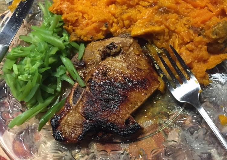 Mahogany Pork Chops