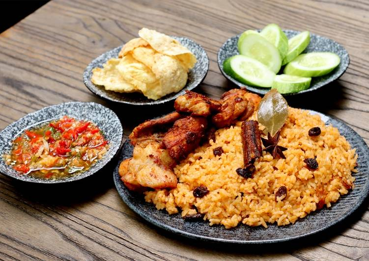 Nasi Kebuli Ayam Rice Cooker