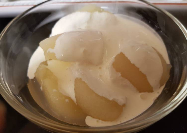 Recipe of Most Popular Pears and Extra thick Double cream