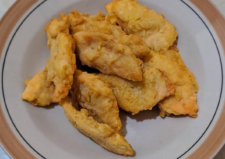 Salmon Krispi Simpel