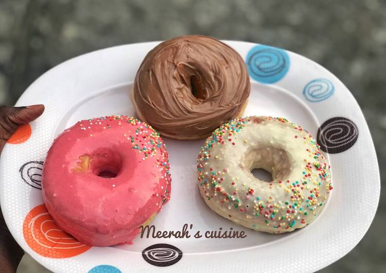 Recipe: Perfect Glazed doughnuts