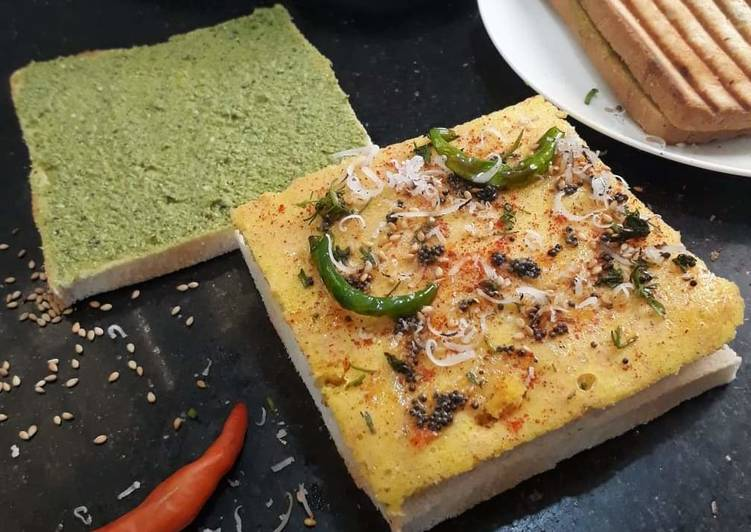 Step-by-Step Guide to Make Homemade Dhokla sandwich