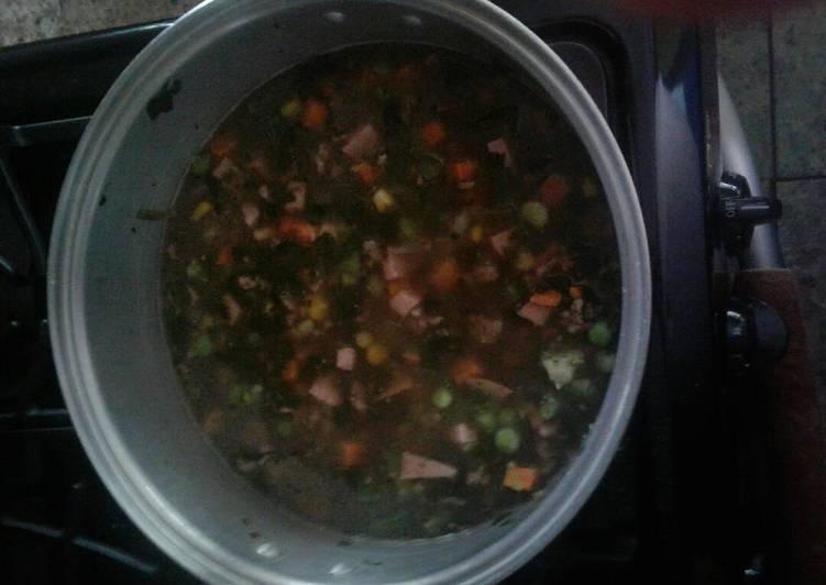 Hamburg soup/stew
