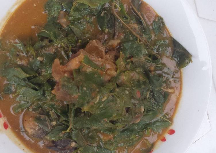 15 Minute Simple Way to Prepare Super Quick Homemade Oha soup