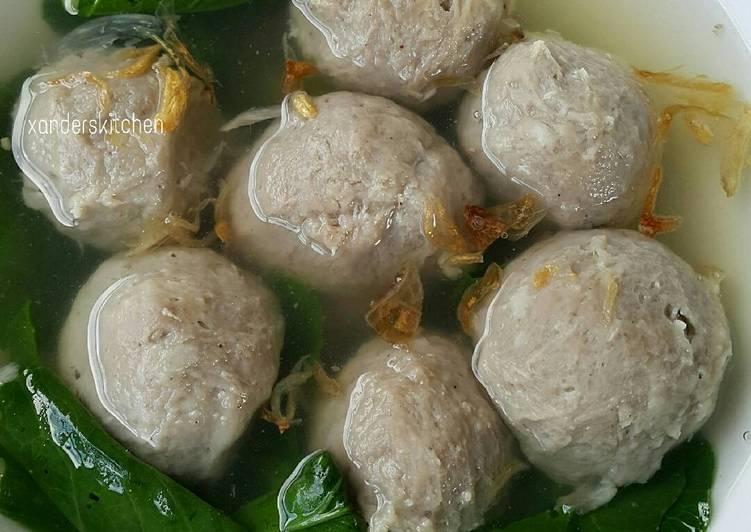 Tips Masak Bakso Sapi Kenyal Enak Tanpa Baking Powder Paling Sederhana