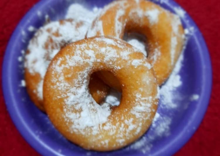 Donut cair empuk lembut menul menul😍😍