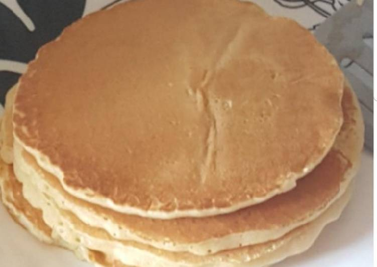 Fluffy American pancakes#snacks recipe contest