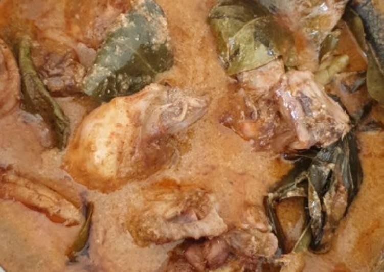 resep cara bikin Rendang ayam