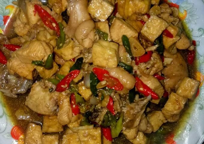 Resep Ayam Tahu Teriyaki Oleh Dedekms Cookpad