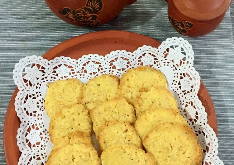 Cheese Cornflake Cookies