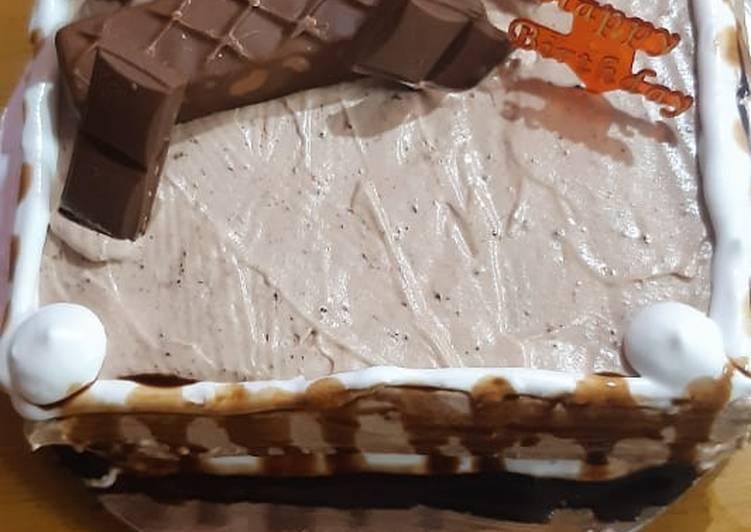 Chocolate vanila cake