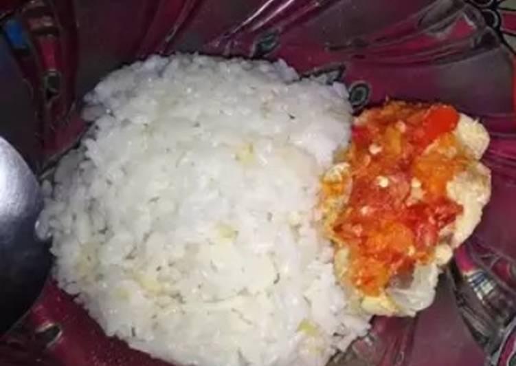 Nasi hainam sederhana