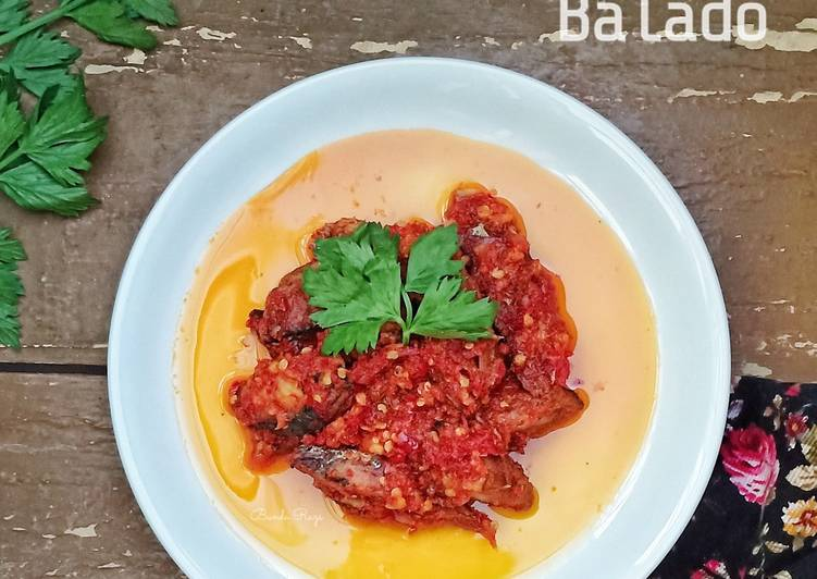 Ikan Pindang Tongkol Balado