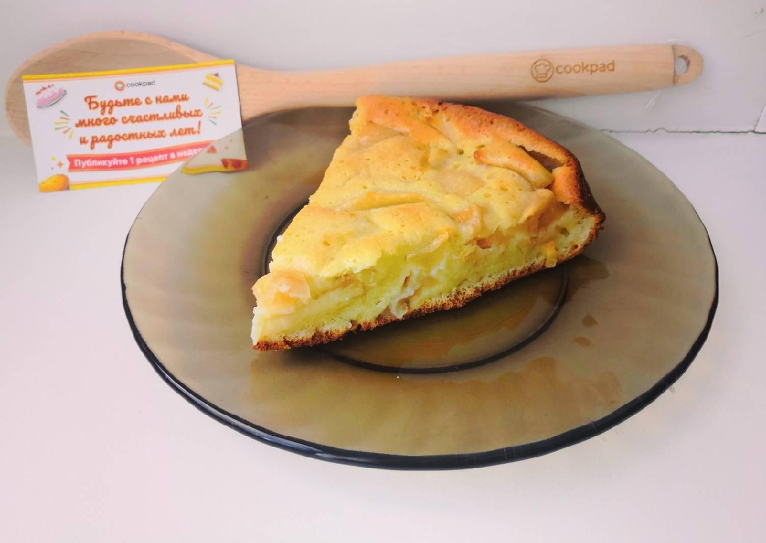 весенне-летний яблочный пирог из маккафе рецепт с фото для сканворда могут