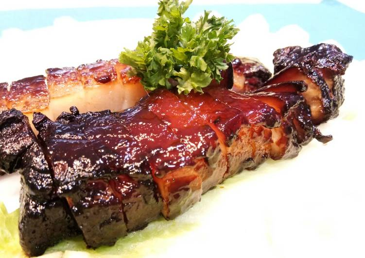 Easiest Way to Make Perfect Char Siew Honey Glazed BBQ Pork