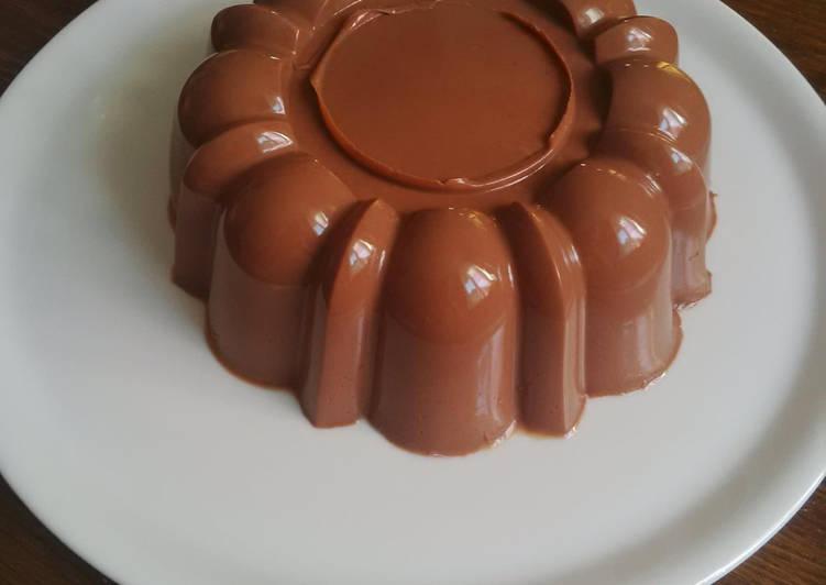 Les Meilleures Recettes de Flan au chocolat
