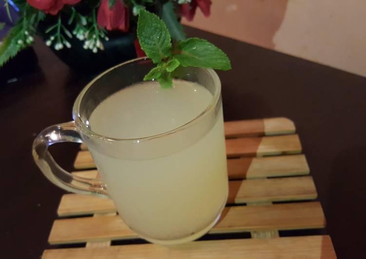 Recipe: Perfect Citronnade à la Menthe
