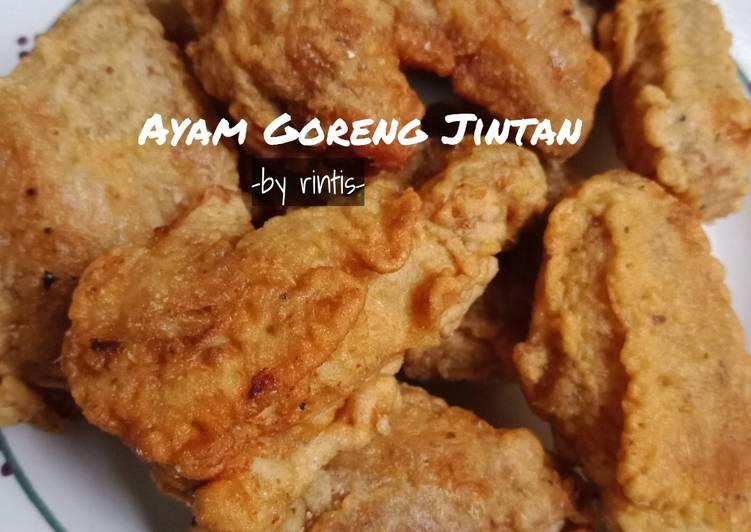 Ayam Goreng Kress bumbu Jintan