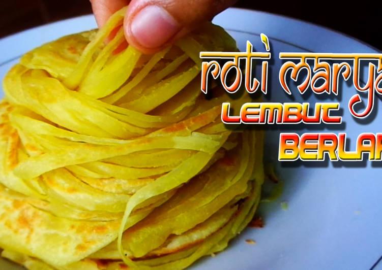 Resep Tips Menyiapkan Roti Maryam Canai Paratha Gurih Lembut Berlapis Anti Gagal Yang Istimewa