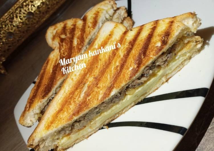 Recipe: Tasty Sardine sandwich