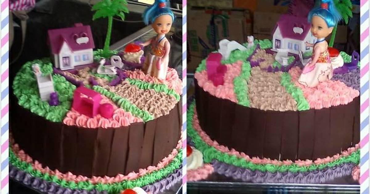 Resep Kue Ultah Tema Rumah Barbie Oleh Ika Tamara Cookpad