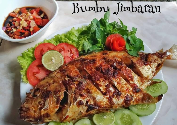 Ikan Kuwe Bakar Bumbu Jimbaran