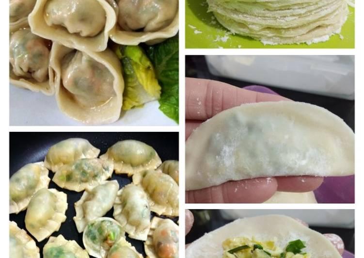 Dumpling / Pangsit / Gyoza/ 饺子 isi telur dan sayuran 💟💟💟