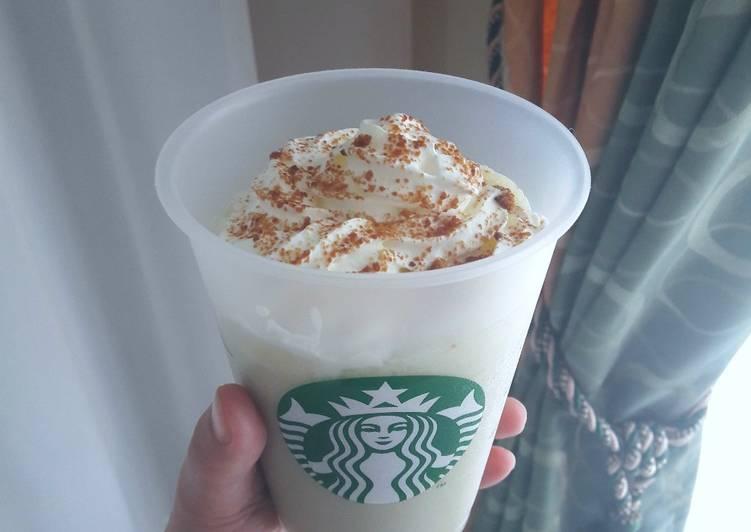 Green Tea Frappuccino Ala Starbucks