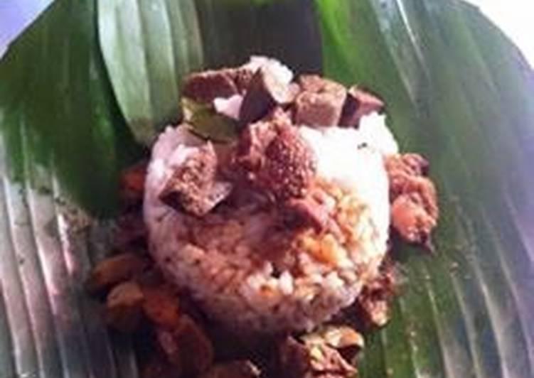 Nasi gandul hot,, (khas Pati)