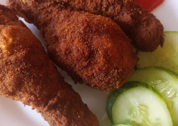 How to Prepare Ultimate Tumeric Crumb Coated Chicken