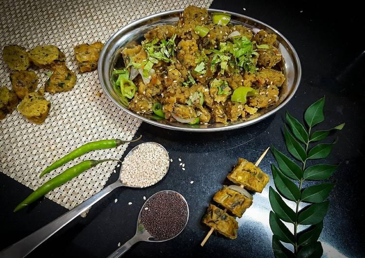 Everyday of Multigrain Mix Veg Muthiya