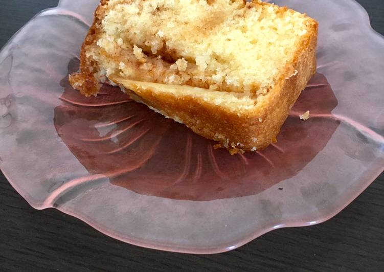 How to Prepare Perfect Apple Brown Sugar & Cinnamon Loaf Cake