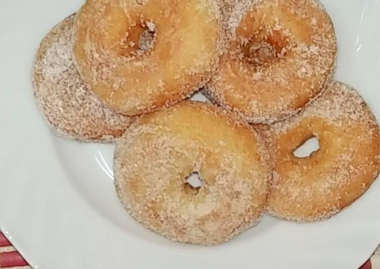 Cara Mudah Masak: Donut lembut Simple