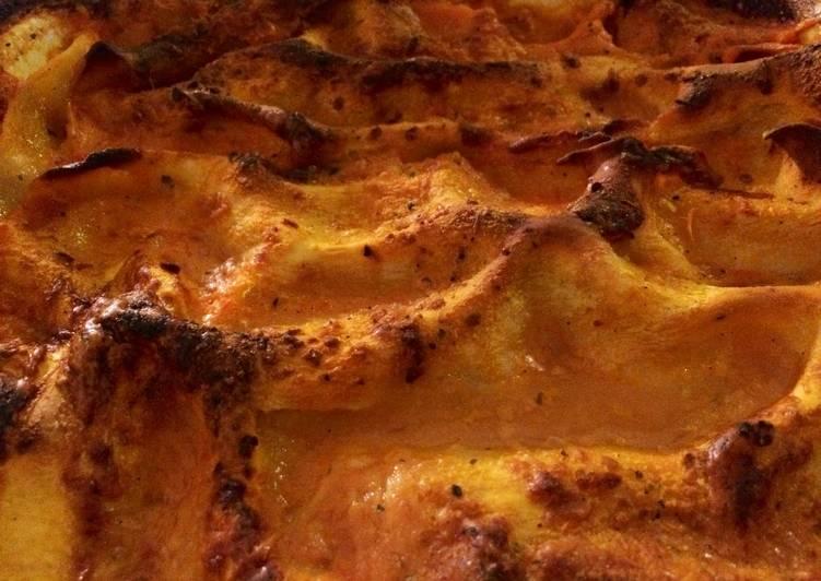 Lasagnes au jambon & mozzarella