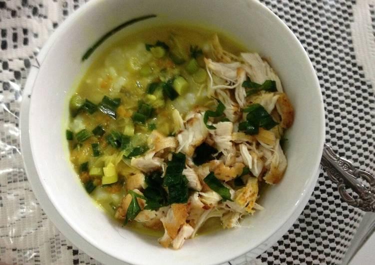 Resep Bubur Ayam Sayang Suami Favorit
