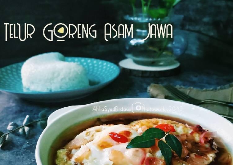 Telur goreng Asam Jawa - velavinkabakery.com